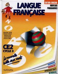 Langue française : CE2, cycle 3