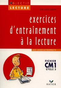 Exercices d'entraînement à la lecture, CM1