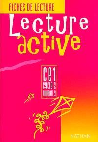 Lecture active CE1 : fichier de l'élève