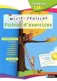 Mille-feuilles, français CM1 : fichier d'activités