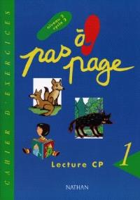 Pas à page, lecture CP : cahier d'exercices 1