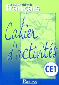 Activités de français, CE1 cycle 2