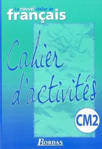 Activités de français, CM2 cycle 3