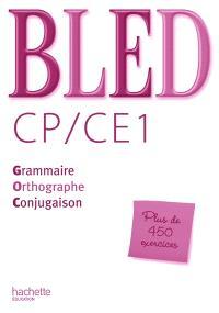 Bled CP, CE1 : corrigés des exercices du livre élève