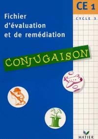 Conjugaison, CE1