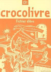 Crocolivre lecture CE1 : fichier élève