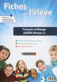 Evolu fiches, Français et manga : SEGPA niveau 1