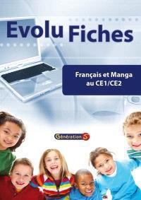 Evolu fiches, Français et manga au CE1-CE2