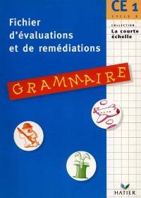 Grammaire, CE1