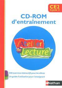 L'atelier de lecture CE2 : CD-ROM d'entraînement