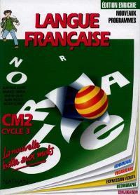 Langue française : CM2, cycle 3