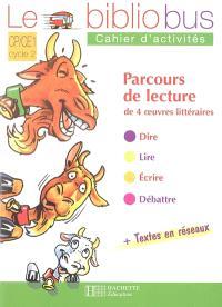 Le bibliobus CP-CE1 : parcours de lecture de 4 oeuvres littéraires
