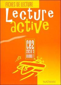 Lecture active CE2, cycle 3, niveau 1 : fiches de lecture