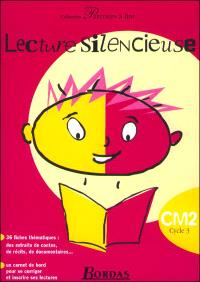 Lecture silencieuse, CM2 cycle 3