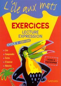 Lecture-expression CM1-CM2 : photofiches élève