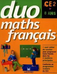Maths français CE2 : 8 ans