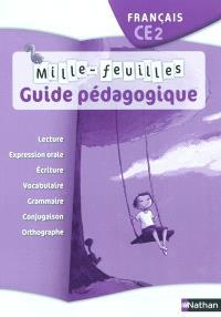 Mille-feuilles français CE2 : guide pédagogique