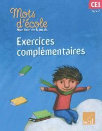 Mon livre de français cycle 2 CE1 : exercices complémentaires