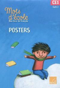 Mon livre de français cycle 2 CE1 : posters