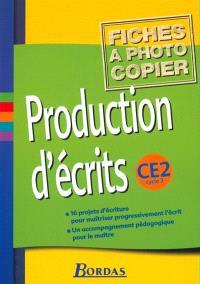 Production d'écrits, CM2 : fichiers photocopiables