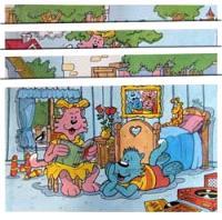 Ratus et ses amis, CP : matériel complémentaire, grandes images, 1re partie : pages 4 à 24