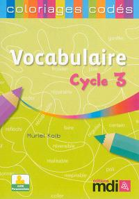 Vocabulaire cycle 3