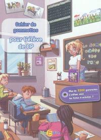 Cahier de gommettes pour l'élève de CP