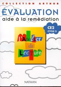 L'atelier de lecture CE2 : évaluation, aide à la remédiation