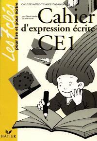 Cahier d'expression écrite CE1