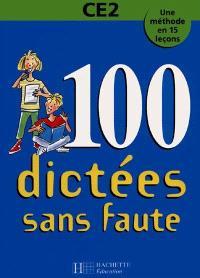 100 dictées sans faute, CE2