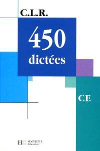 450 dictées, CE