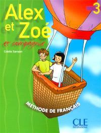 Alex et Zoé et compagnie, niveau 3 : livre de l'élève
