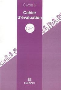 Cahier d'évaluation cycle 2 CE1