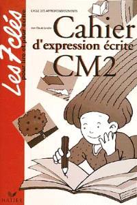 Cahier d'expression écrite CM2