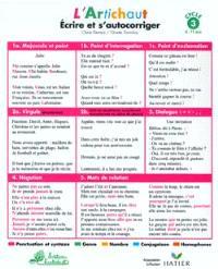 Ecrire et s'autocorriger, cycle 3