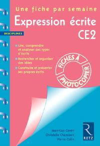 Expression écrite CE2