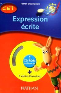 Expression écrite, CE1