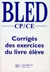 Français primaire CP-CE : corrigés des exercices du livre de l'élève
