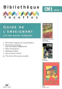 Guide de l'enseignant, CM1 : série 1
