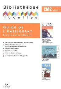Guide de l'enseignant, CM2 : série 1
