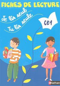 Je lis seul, tu lis seule CE1 : fiches de lecture (5 exemplaires)