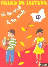 Je lis seul, tu lis seule CP : fiches de lecture (pack de 5 exemplaires)