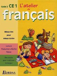 L'atelier de français, cycle 2, CE1