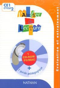 L'atelier de lecture CE1 : CD-ROM d'évaluation