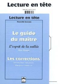 L'esprit de la vallée, Pierre Rouanne : fichier de l'élève