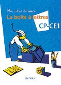 La boîte à lettres CP : mon cahier d'écriture