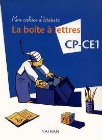 La boîte à lettres CP-CE1 : mon cahier d'écriture