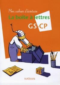 La boîte à lettres GS-CP : mon cahier d'écriture