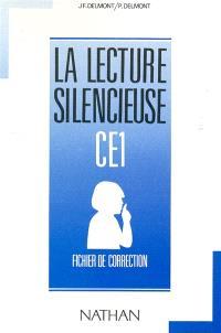 La lecture silencieuse CE1 : fichier de correction