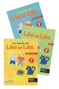 La souris de Léo et Léa : pack 3 CD-ROM